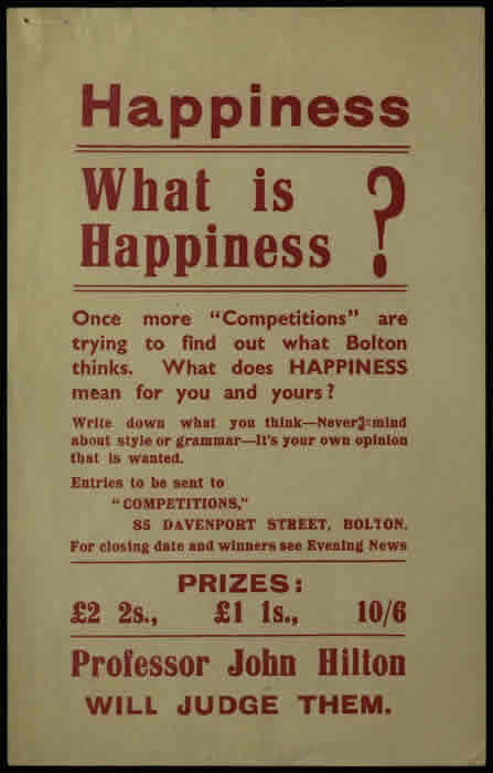 Topic Collection 7 - Happiness 1938